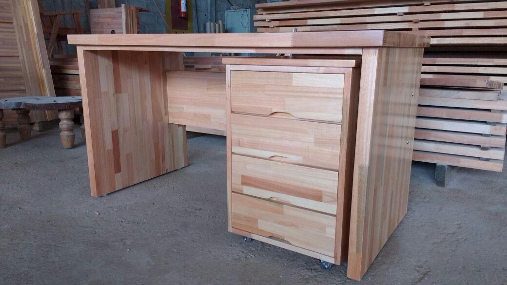 Mesa de escrit rio em madeira - Mesa de escritorio ...