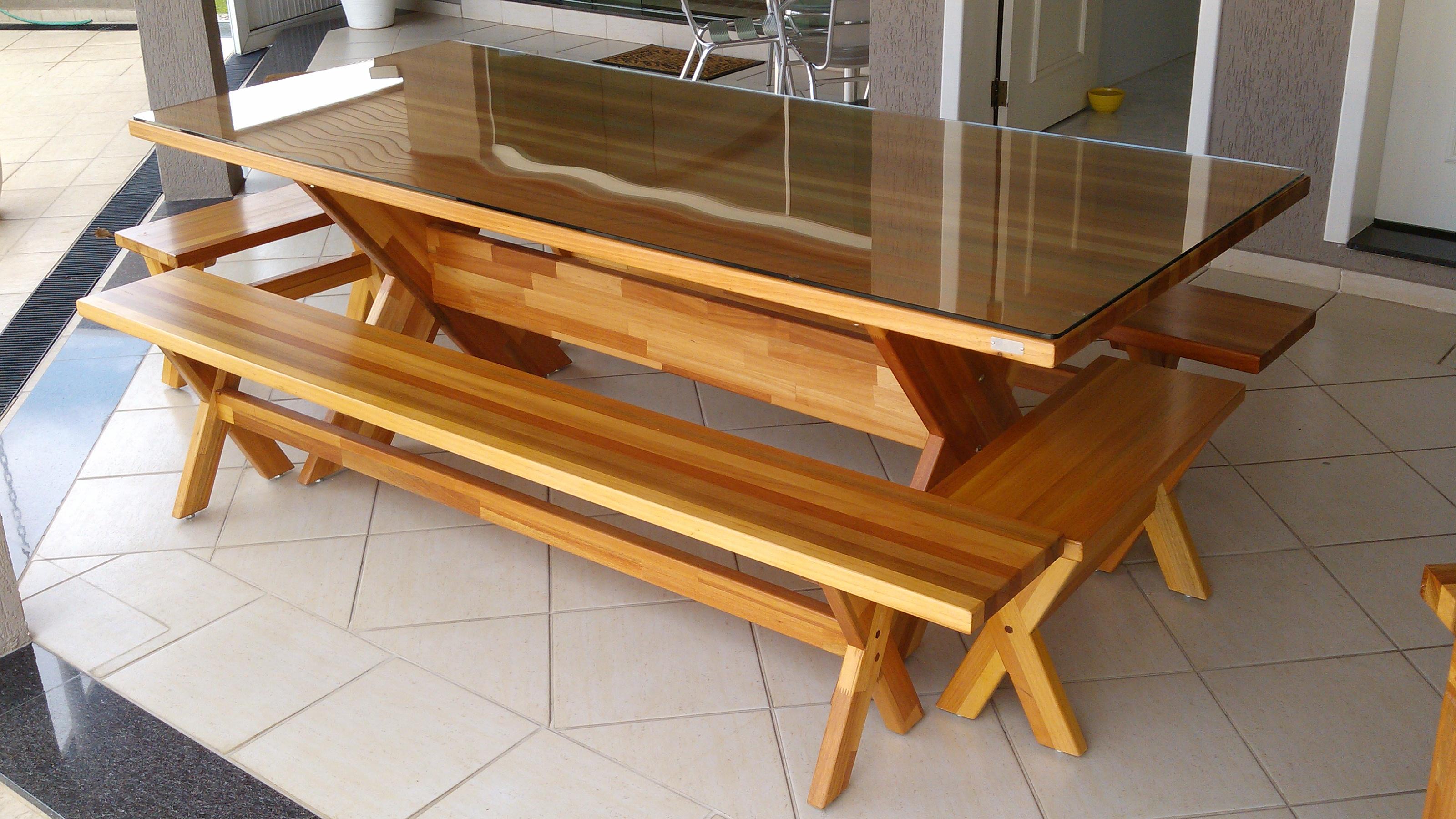 Mesa em Madeira Maciça #A0722B 3200x1800